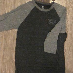 Vans 3/4 sleeve shirt